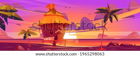 beach hut or bungalow at