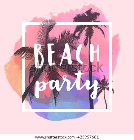 beach party modern