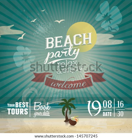 Beach Party Your Best Tours For Vacation
