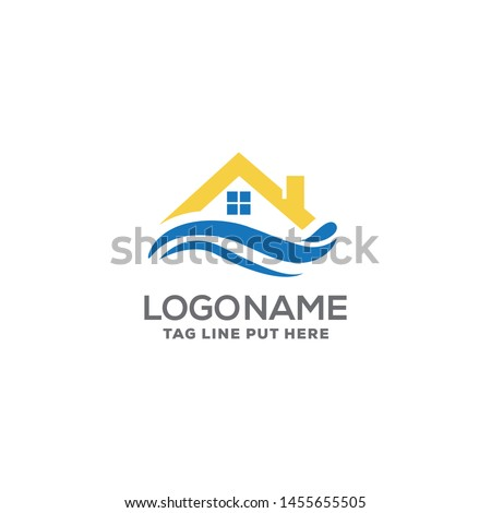 beach property logo design