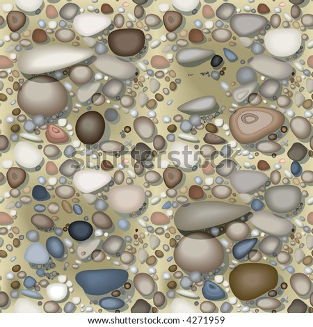 beach repeating pattern