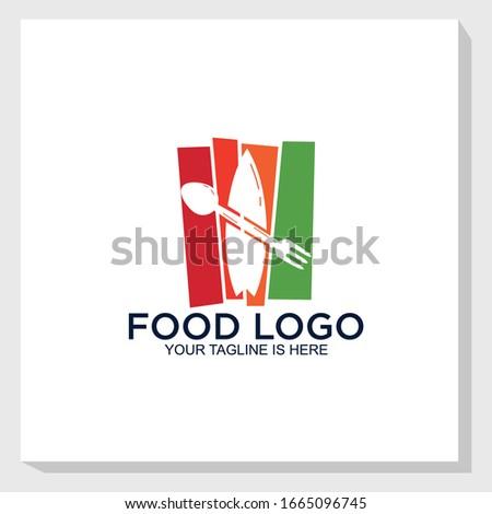 beach restaurant logo template