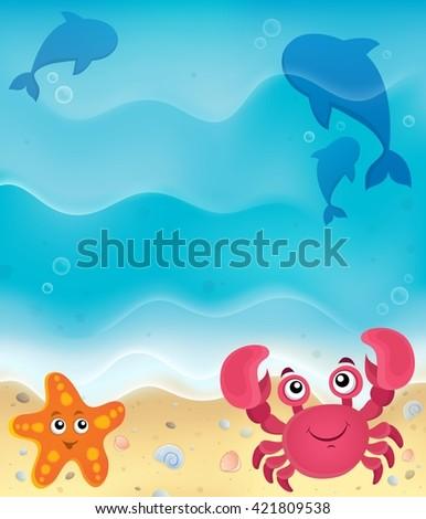 beach theme image 5   eps10