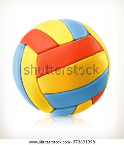 beach volleyball vector icon