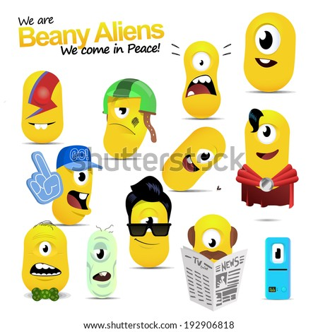 Bean Aliens