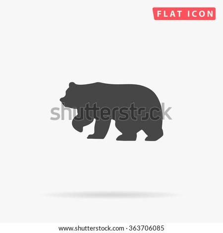 bear icon bear icon vector