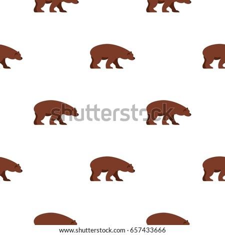 bear pattern seamless