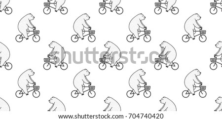 Bear Pattern Background Download Free Vector Art Stock Graphics