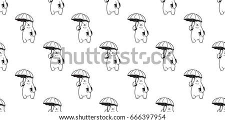 bear polar bear umbrella