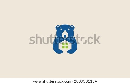 bear real estate  logo design