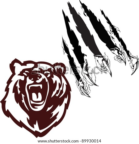 Bear Claw Drawings http://antichesterfield.blogspot.com/2012/12/bear-claw-tattoo.html
