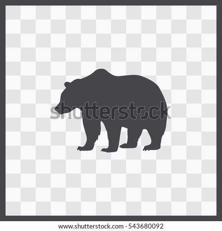stock-vector-bear-vector-icon-isolated-illustration-business-picture