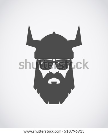 bearded viking wearing