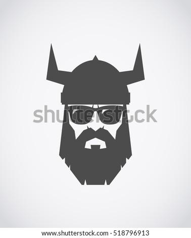 bearded viking wearing