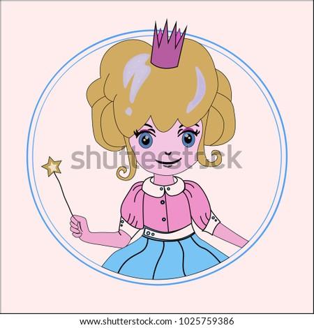 beatiful girl   princess in