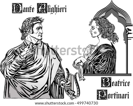 beatrice was dante   s true