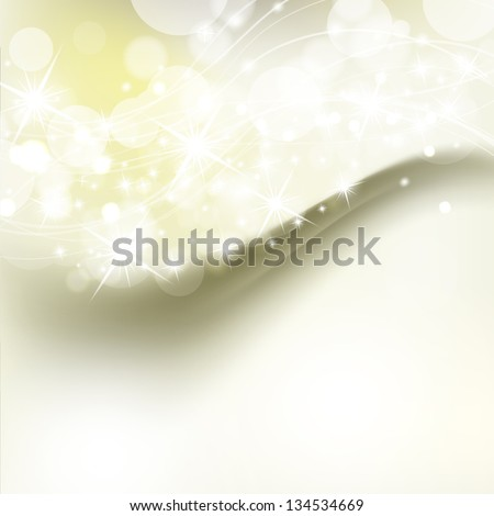 beautiful abstract background with holiday shiny lights - stock vector