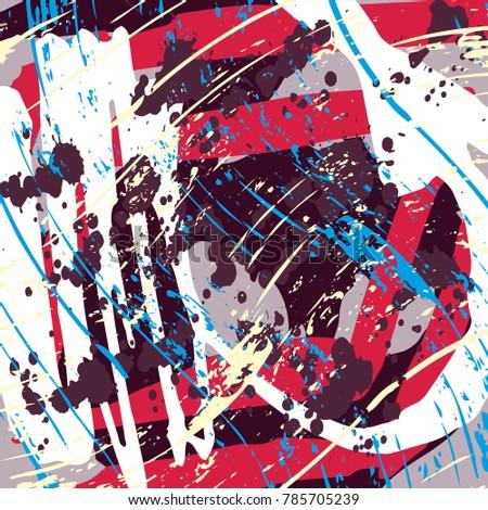stock-vector-beautiful-abstract-dark-graffiti-pattern-vector-illustration