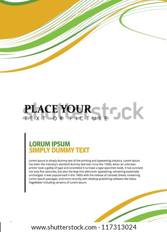Cover page design green free vector download (11,940 Free vector ...