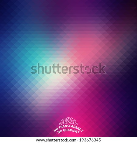 Beautiful abstract geometric style background with soft color tones.