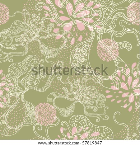 beautiful abstract seamless pattern