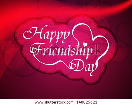 beautiful background design for friendship day. vector illustration #148025621
