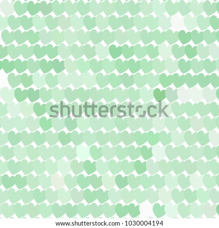 Beautiful background with an abstract pattern of hearts. The layout for greeting cards, Valentine Day cards, labels, tags, banners, flyers, ads. Vector clip art.