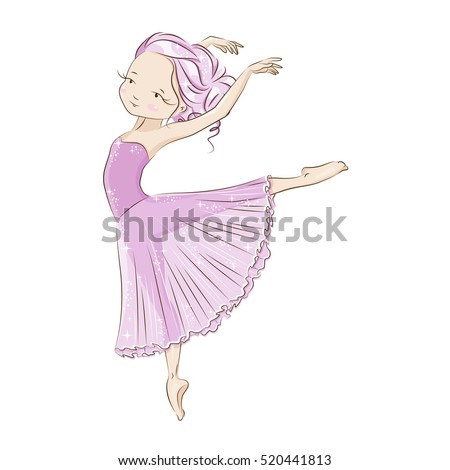 beautiful ballerina in