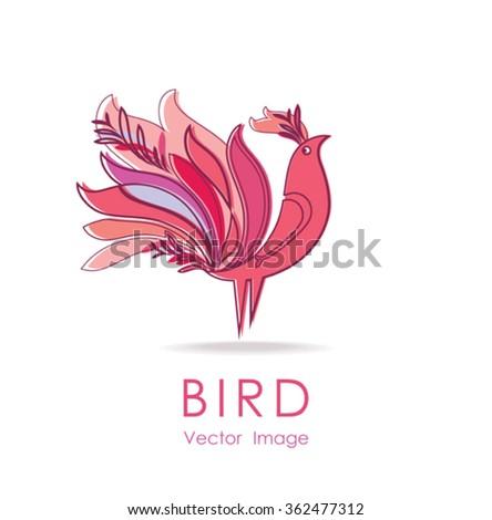 beautiful bird   design