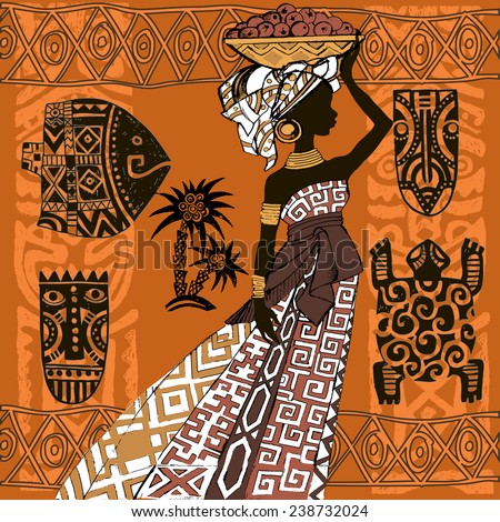 beautiful black womanafrican
