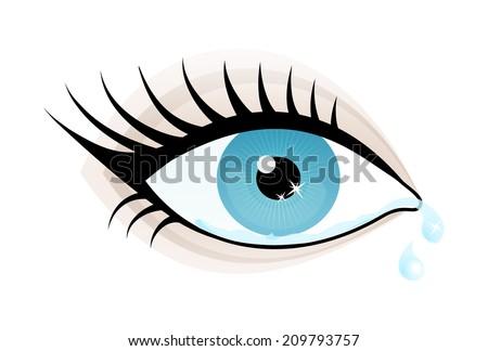 beautiful blue color eye woman
