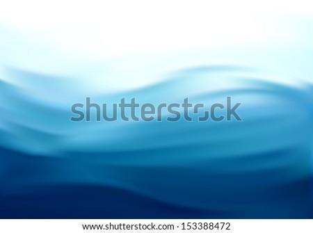 beautiful blue satin drapery