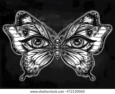 beautiful butterfly wings with