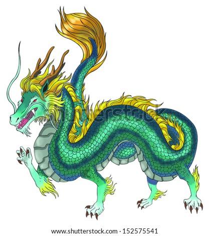 beautiful chinese dragon