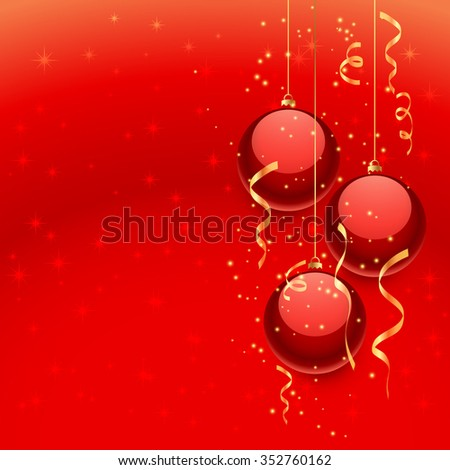 beautiful christmas balls #352760162