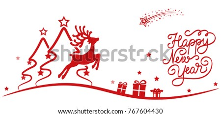 beautiful christmas tree with