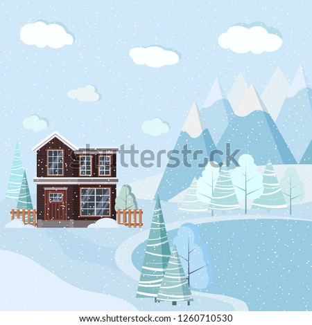 beautiful christmas winter