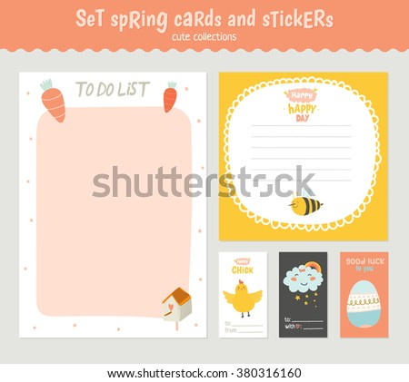 Cute easter gift tag collection download free vector art stock beautiful collection of easter greeting cards gift tags stickers and labels templates in vector negle Choice Image