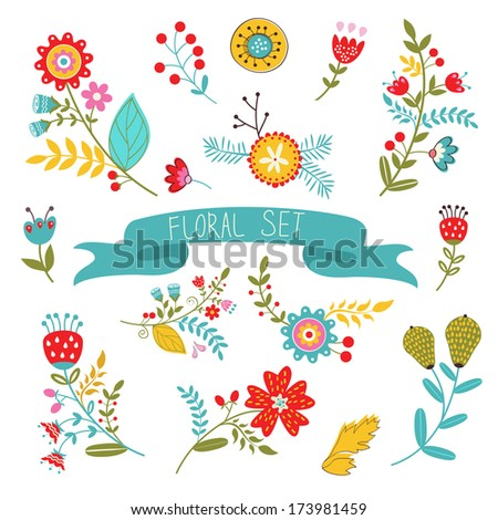 beautiful collection of floral