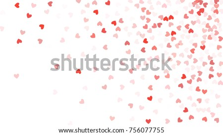 beautiful confetti hearts...