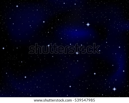 beautiful cosmic vector