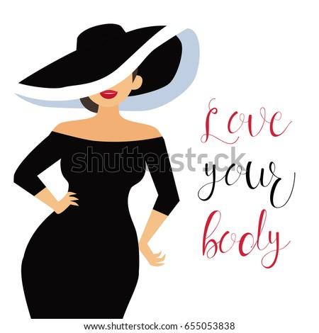 beautiful curvy  overweight