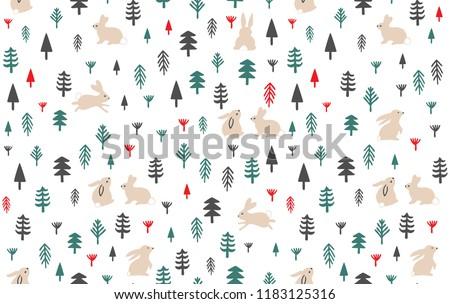 beautiful cute pattern  of