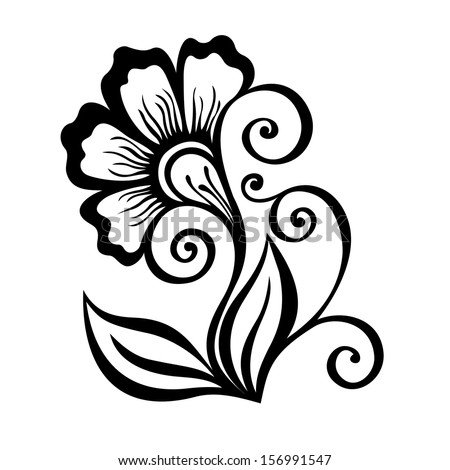 Detail  middot  Beautiful Decorative Flower with Leaves  Vector   Patterned design  156991547. Royalty free Beautiful Deco Circle  Patterned design  172917998
