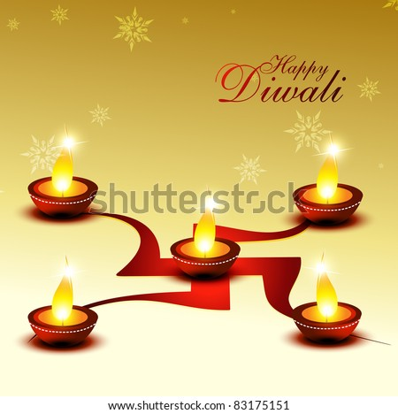 beautiful diwali hindu festival background