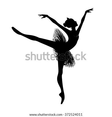 57298bf1235f1 Ballet Dancer Silhouette Free Vector Art - (107 Free Downloads)