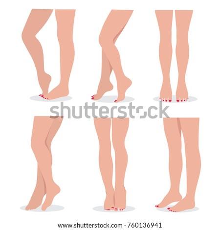 beautiful elegant woman legs