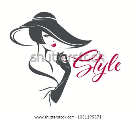 beautiful  elegant woman with