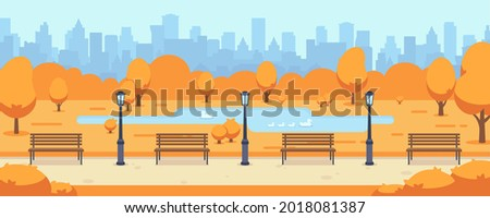 beautiful fall city road