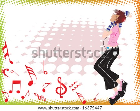 music background wallpaper. on music background,